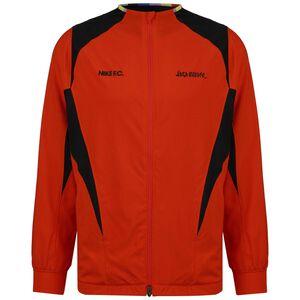 F.C. Woven AWF Trainingsjacke Herren, neonrot / schwarz, zoom bei OUTFITTER Online