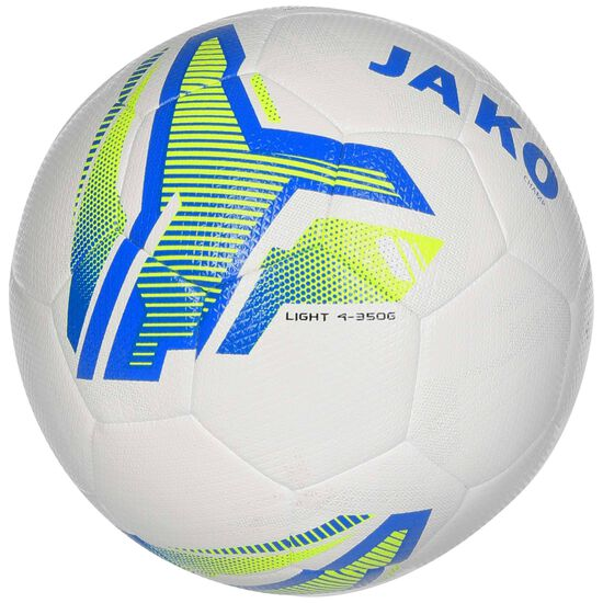 Lightball Hybrid Camp Fußball, blau / neongelb, zoom bei OUTFITTER Online