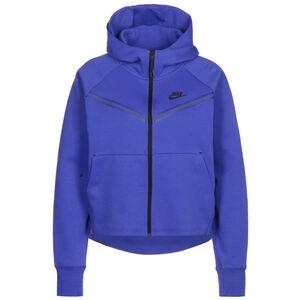 Sportswear Tech Fleece Windrunner Damen, blau / schwarz, zoom bei OUTFITTER Online