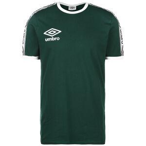 Ringer Trainingsshirt Herren, dunkelgrün / weiß, zoom bei OUTFITTER Online