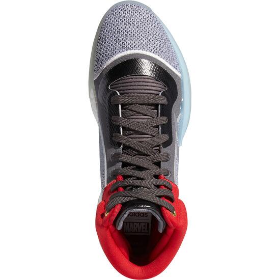 Marquee Boost Basketballschuhe Herren, weiß / silber, zoom bei OUTFITTER Online