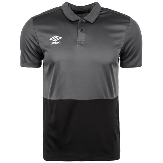 Poly Poloshirt Herren, grau / schwarz, zoom bei OUTFITTER Online