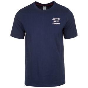 Tee T-Shirt Herren, dunkelblau / rosa, zoom bei OUTFITTER Online