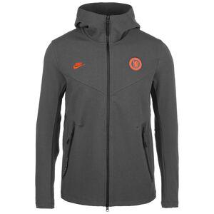 FC Chelsea Tech Pack Jacke Herren, anthrazit / orange, zoom bei OUTFITTER Online
