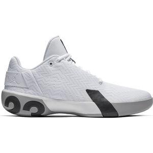 Jordan Ultra.Fly 3 Low Basketballschuh Herren, weiß / grau, zoom bei OUTFITTER Online