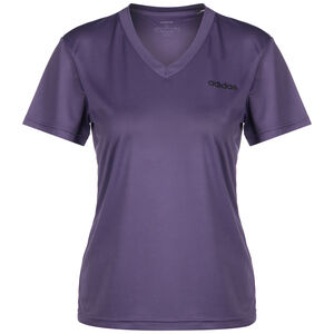 D2M Solid T-Shirt, lila / schwarz, zoom bei OUTFITTER Online