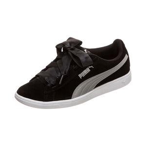 Vikky Ribbon Sneaker Kinder, schwarz / silber, zoom bei OUTFITTER Online