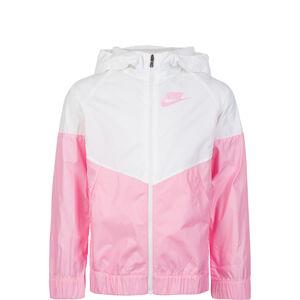 Sportswear Windrunner Kinder, weiß / pink, zoom bei OUTFITTER Online