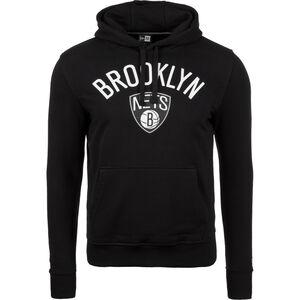 NBA Brooklyn Nets Logo Kapuzenpullover Herren, Schwarz, zoom bei OUTFITTER Online