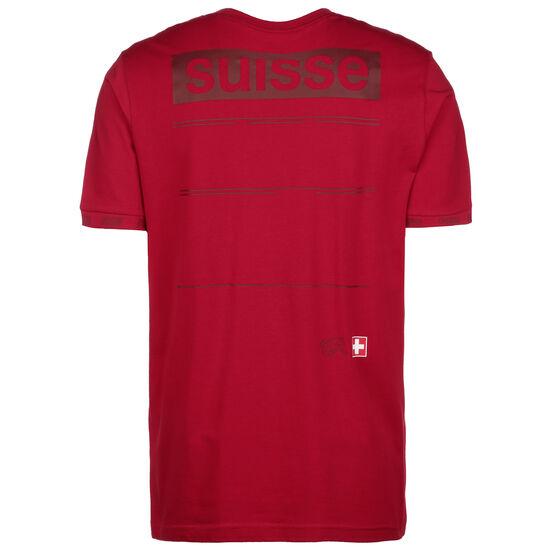 Schweiz FtblCulture T-Shirt EM 2021 Herren, rot, zoom bei OUTFITTER Online