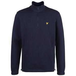Pique 1/4 Zip Sweatshirt Herren, dunkelblau, zoom bei OUTFITTER Online