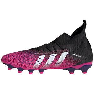 Predator Freak .3 MG Fußballschuh Herren, schwarz / pink, zoom bei OUTFITTER Online
