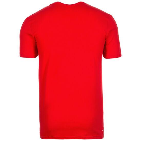Tiro 17 T-Shirt Herren, rot / schwarz, zoom bei OUTFITTER Online