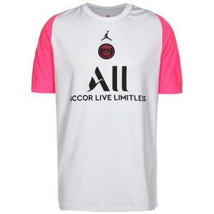 Paris St.-Germain Breathe Strike Trainingsshirt Herren, hellgrau / pink, zoom bei OUTFITTER Online