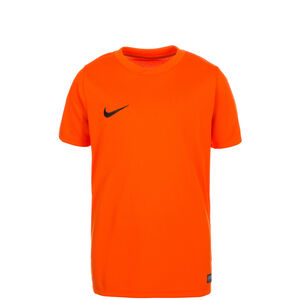Park VI Fußballtrikot Kinder, orange / schwarz, zoom bei OUTFITTER Online
