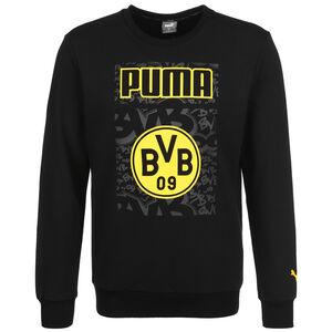 Borussia Dortmund ftblCore Graphic Crew Sweatshirt Herren, schwarz / gelb, zoom bei OUTFITTER Online