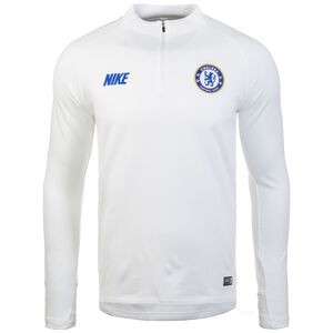 FC Chelsea Dry Squad Drill Trainingsshirt Herren, weiß / blau, zoom bei OUTFITTER Online