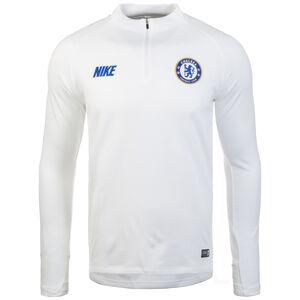 FC Chelsea Dry Squad Drill Trainingsshirt Herren, weiß / blau, zoom bei OUTFITTER Online