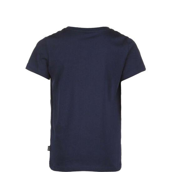 Essentials 2 Logo T-Shirt Kinder, dunkelblau, zoom bei OUTFITTER Online