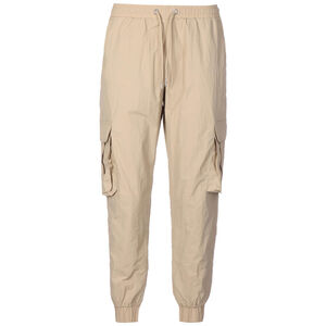 High Waist Crinkle Nylon Cargo Hose Damen, beige, zoom bei OUTFITTER Online
