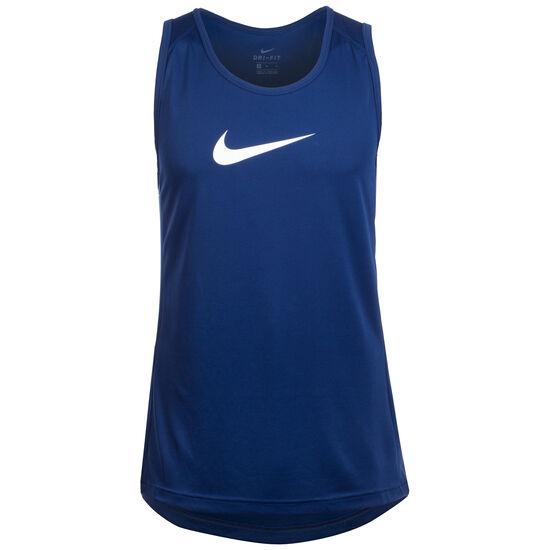 Dry Basketballtank Herren, blau / weiß, zoom bei OUTFITTER Online