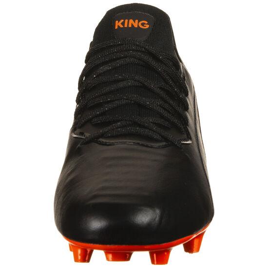 King Platinum MG Fußballschuh Herren, schwarz / orange, zoom bei OUTFITTER Online