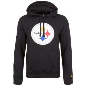 NFL Pittsburgh Steelers Logo Kapuzenpullover Herren, Schwarz, zoom bei OUTFITTER Online