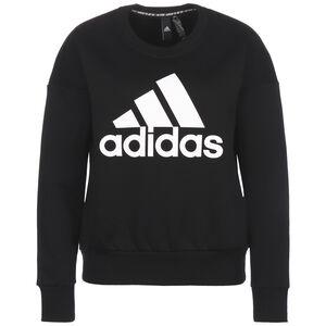Badge of Sport Crew Sweatshirt Damen, schwarz, zoom bei OUTFITTER Online
