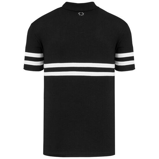 DMWU Poloshirt Herren, schwarz / weiß, zoom bei OUTFITTER Online