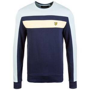 Colour Block Sweatshirt Herren, dunkelblau / grau, zoom bei OUTFITTER Online
