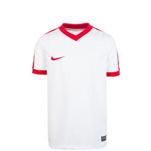 Striker IV Fußballtrikot Kinder, weiß / rot, zoom bei OUTFITTER Online