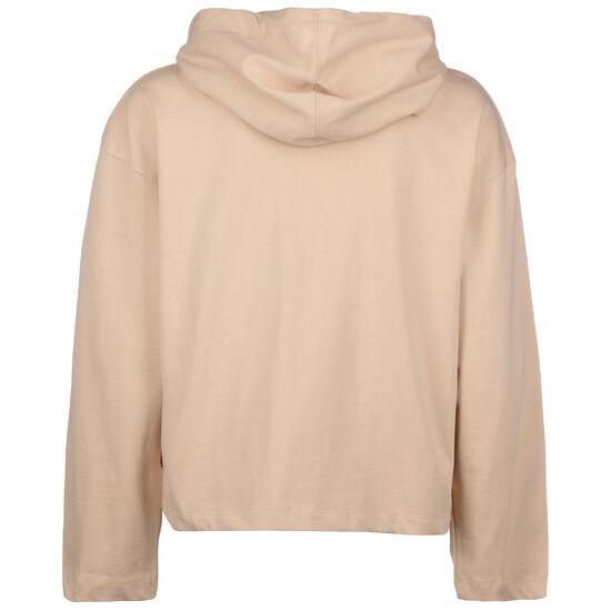 Sportswear Jersey Kapuzenjacke Damen, beige, zoom bei OUTFITTER Online