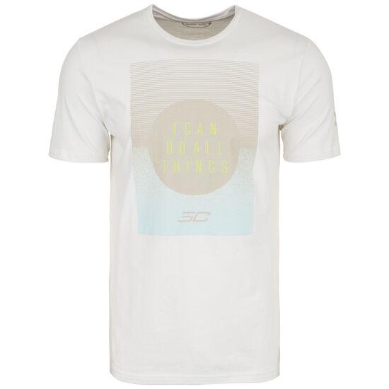SC30 ICDAT Eclipse Basketballshirt Herren, weiß / dunkelgelb, zoom bei OUTFITTER Online