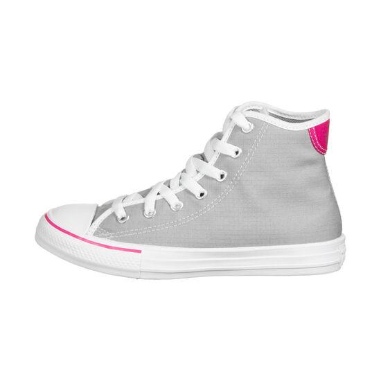 Chuck Taylor All Star High Sneaker Kinder, hellgrau / pink, zoom bei OUTFITTER Online