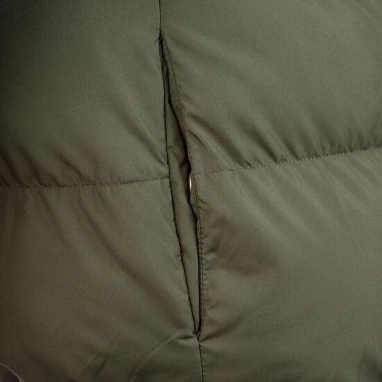 Hooded Puffer Daunenjacke Damen, oliv, zoom bei OUTFITTER Online
