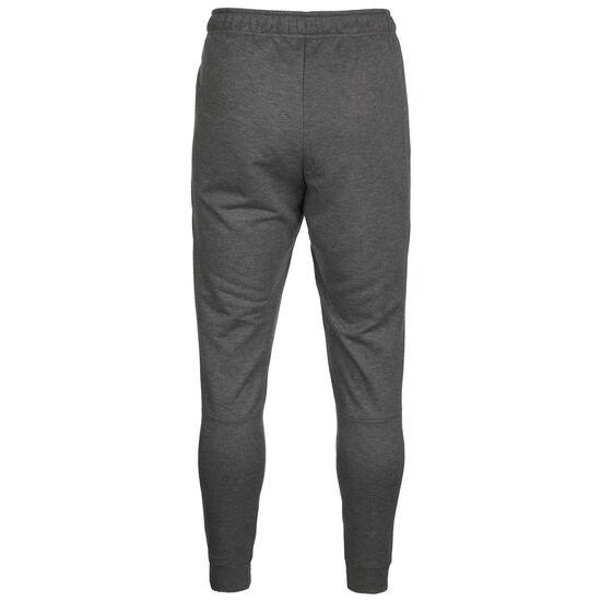 Taper Fleece Trainingshose Herren, grau / schwarz, zoom bei OUTFITTER Online