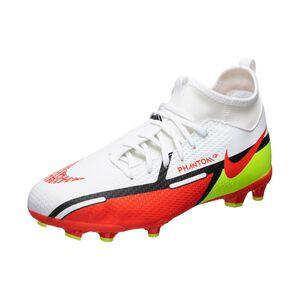 Phantom GT2 Academy DF MG Fußballschuh Kinder, weiß / rot, zoom bei OUTFITTER Online