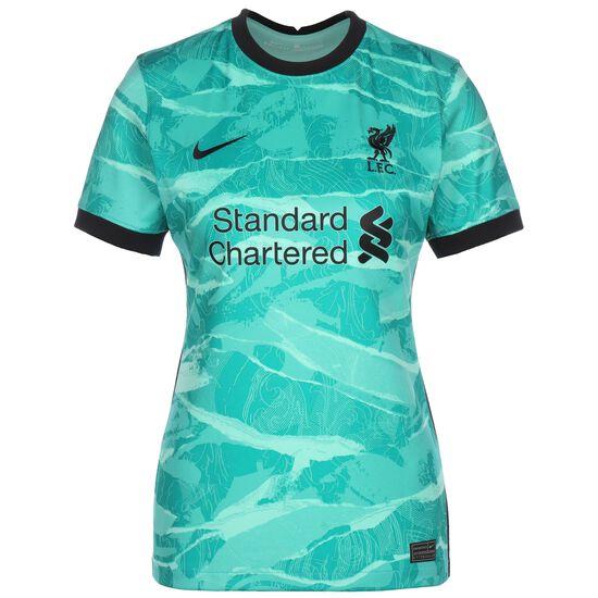 FC Liverpool Trikot Away Stadium 2020/2021 Damen, türkis / schwarz, zoom bei OUTFITTER Online