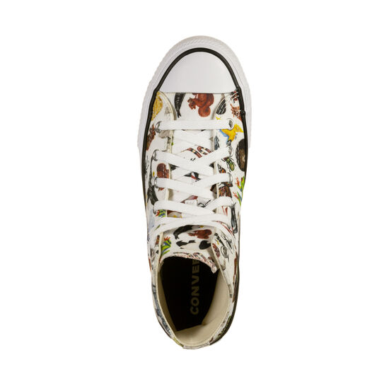 Cuck Taylor All Star Hi Sneaker Kinder, weiß / bunt, zoom bei OUTFITTER Online