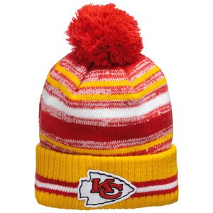 NFL Kansas City Chief Sideline Bobble Knit Mütze, , zoom bei OUTFITTER Online
