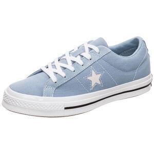 Cons One Star OX Sneaker Damen, blau / weiß, zoom bei OUTFITTER Online