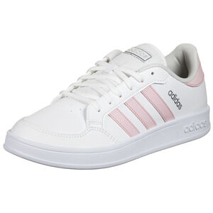 Breaknet Sneaker Damen, weiß / rosa, zoom bei OUTFITTER Online