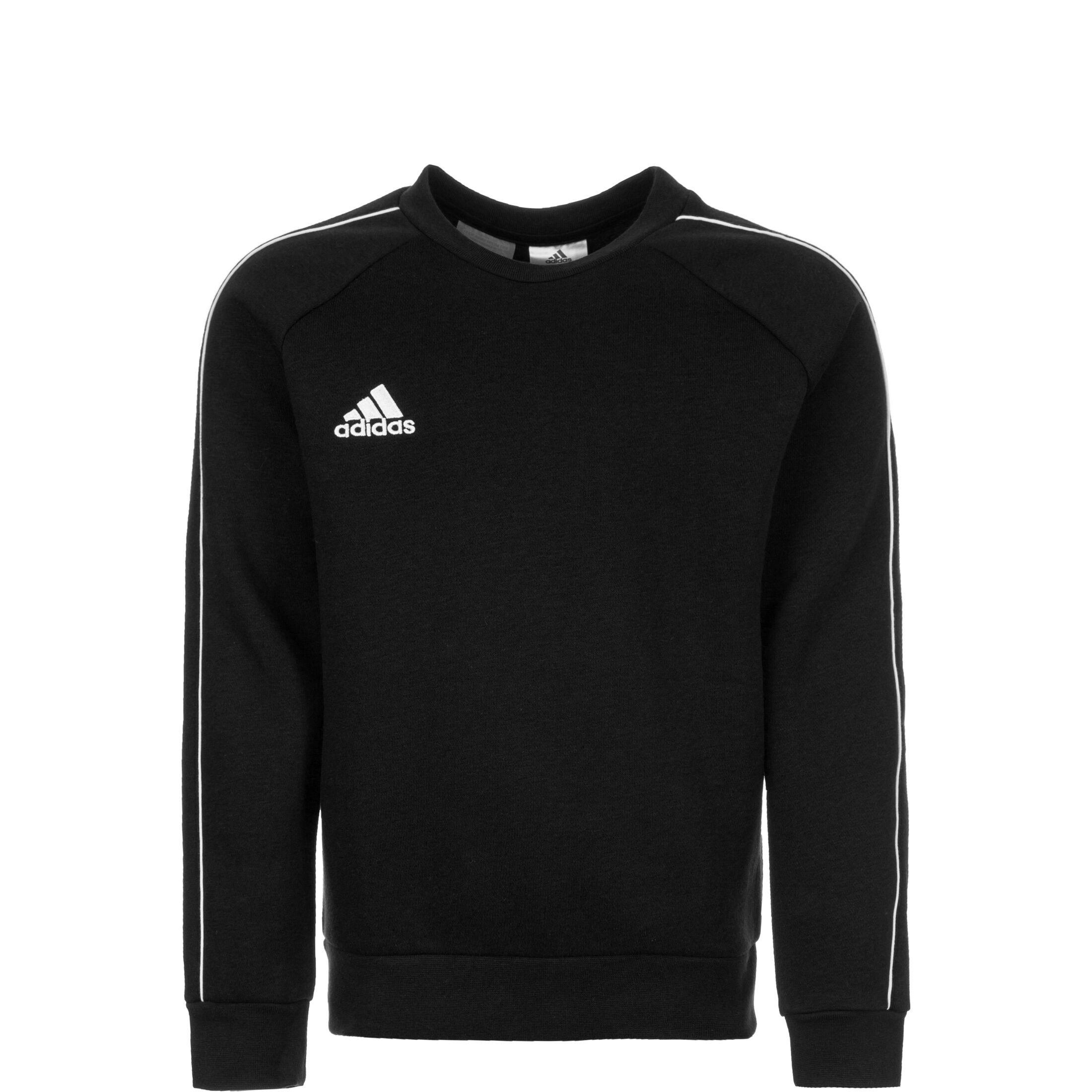 adidas Performance Core 18 Sweatshirt Kinder dunkelgrau