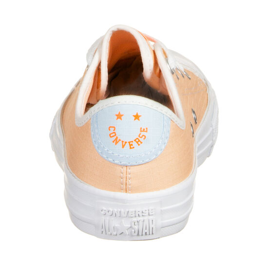 Chuck Taylor All Star OX Sneaker Kinder, orange / blau, zoom bei OUTFITTER Online