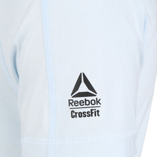 CrossFit Games ACTIVCHILL Trainingsshirt Herren, hellblau / rot, zoom bei OUTFITTER Online