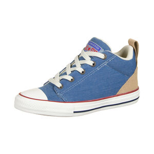 Chuck Taylor All Star Ollie Mid Sneaker Kinder, blau / hellbraun, zoom bei OUTFITTER Online