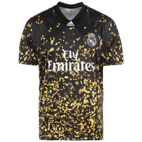 Real Madrid EA Trikot Herren, schwarz / gold, zoom bei OUTFITTER Online