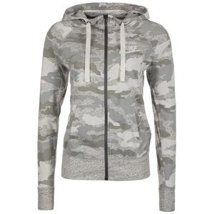 Gym Vintage Kapuzenjacke Damen, grau / beige, zoom bei OUTFITTER Online