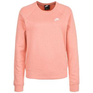 Essential Crew Sweatshirt Damen, pink / weiß, zoom bei OUTFITTER Online