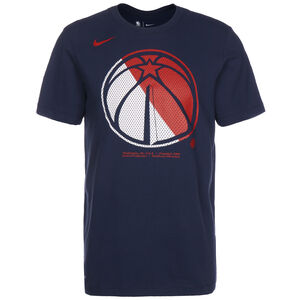 NBA Washington Wizards Dry Logo T-Shirt Herren, dunkelblau / rot, zoom bei OUTFITTER Online